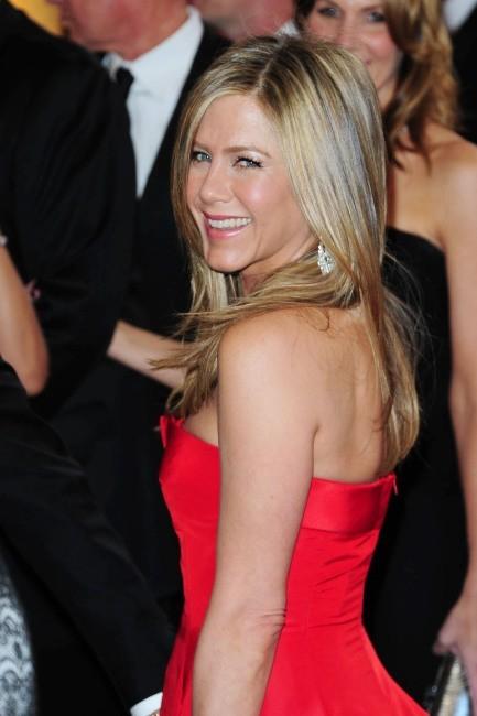 Jennifer Aniston lors de la 85e cérémonie des Oscars à Los Angeles, le 24 février 2013.