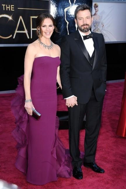 Jennifer Garner et Ben Affleck lors de la 85e cérémonie des Oscars à Los Angeles, le 24 février 2013.