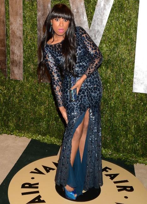Jennifer Hudson le 24 février 2013 à Los Angeles