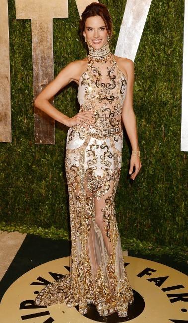 Alessandra Ambrosio le 24 février 2013 à Los Angeles