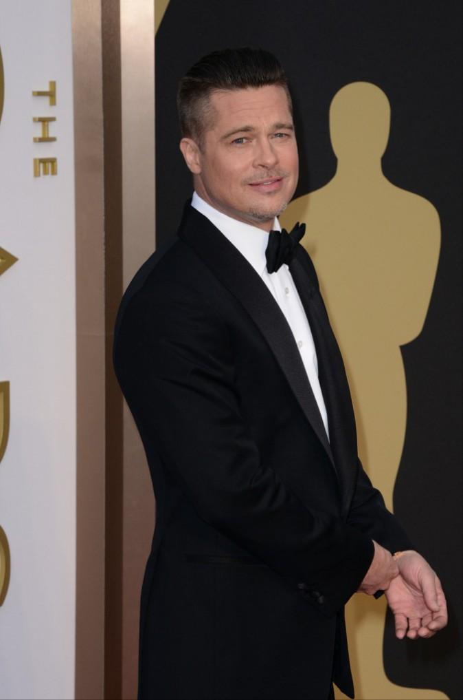 Brad Pitt lors de la 86e cérémonie des Oscars à Hollywood, le 2 mars 2014.