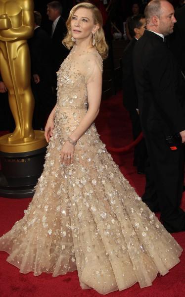 Cate Blanchett lors de la 86e cérémonie des Oscars à Hollywood, le 2 mars 2014.