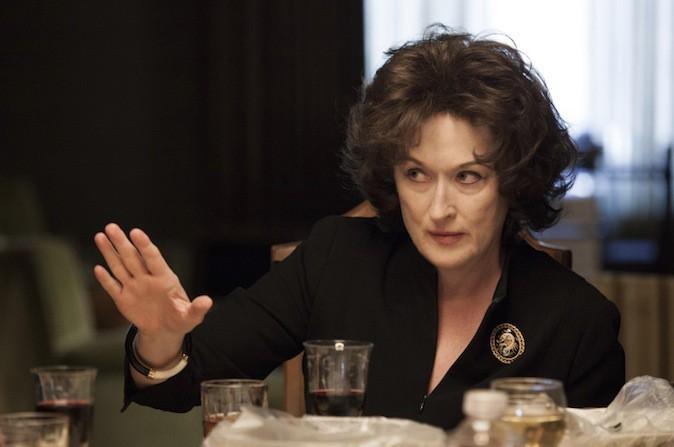 """Meryl Streep nommée """"meilleure actrice"""" pour Un été à Osage County"""
