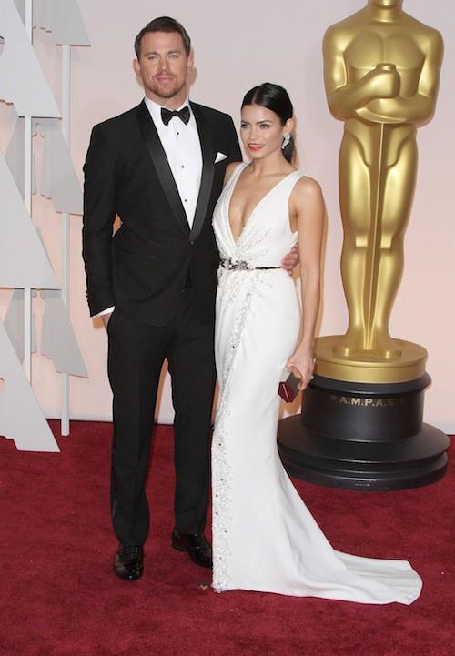 Oscars 2015 : Channing Tatum et Jenna Dewan