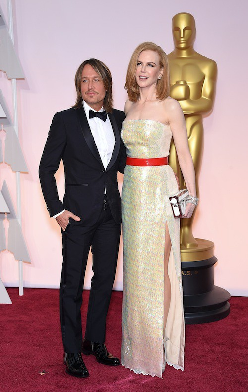 Oscars 2015 : Nicole Kidman et Keith Urban