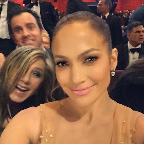 Photos : Oscars 2015 : Jennifer Lopez et le photobomb de Jennifer Aniston et Justin Theroux !