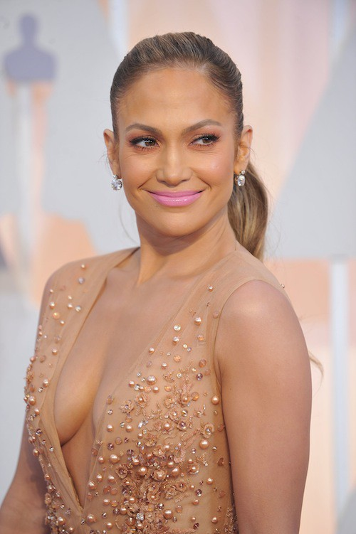 Photos : Oscars 2015 : Jennifer Lopez : la princesse de la cérémonie, c'était elle !