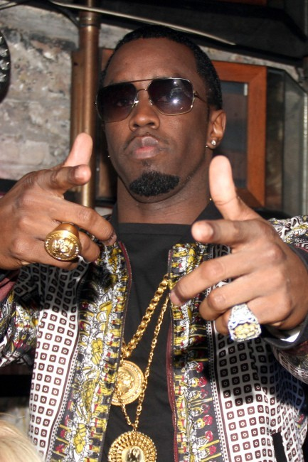 P.Diddy, toujours aussi bling bling !