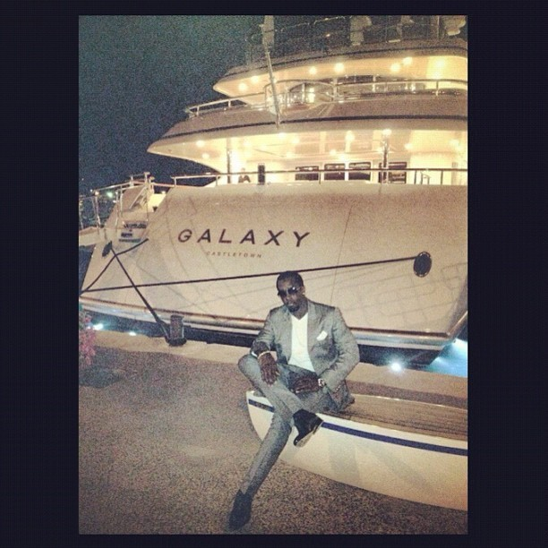 Les vacances bling de P. Diddy