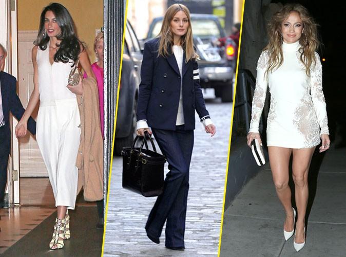 Palme Fashion : Amal Clooney, Olivia Palermo, Jennifer Lopez... Qui a �t� la plus styl�e de la semaine ?