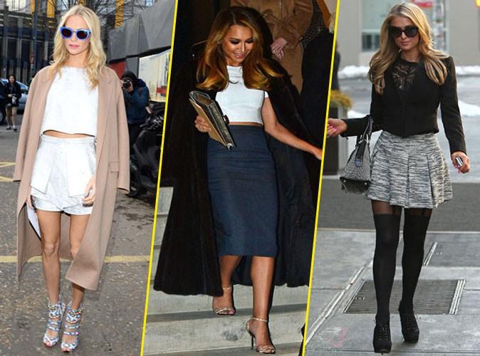 Poppy Delevingne, Naya Rivera et Paris Hilton.