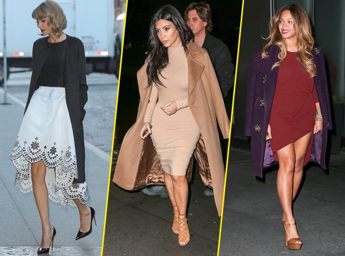 Palme Fashion : Taylor Swift, Kim Kardashian, Beyonc�... Qui a �t� la plus styl�e de la semaine ?