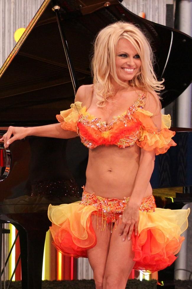 Pamela Anderson le 13 septembre 2012 à Rio De Janeiro