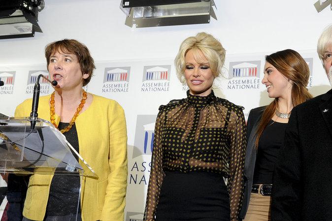 Pamela Anderson a fait un magnifique discours pour la cause des animaux