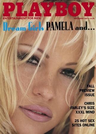 Photos : Pamela Anderson fait la couverture de Playboy en 1997