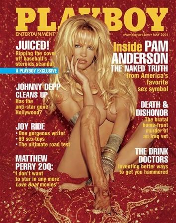 Photos : Pamela Anderson fait la couverture de Playboy en 2004