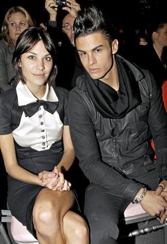 Fashion Week de Paris : Alexa Chung et Baptiste Giabiconi au défilé Chanel