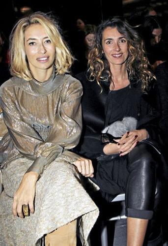 Fashion Week de Paris : Alexandra Golovanoff et Mademoiselle Agnès au défilé Chanel