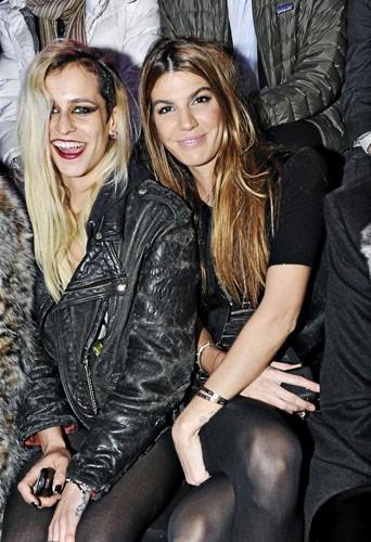 Fashion Week de Paris : Alice Dellal et Bianca Brandolini au défilé Etam