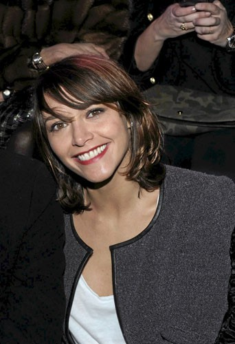 Fashion Week de Paris : Emma De Caunes au défilé Etam