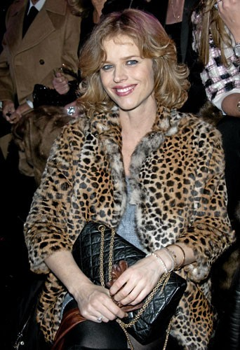 Fashion Week de Paris : Eva Herzigova au défilé Etam