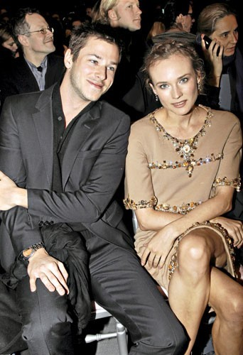 Fashion Week de Paris : Gaspard Ulliel et Diane Kruger au défilé Chanel