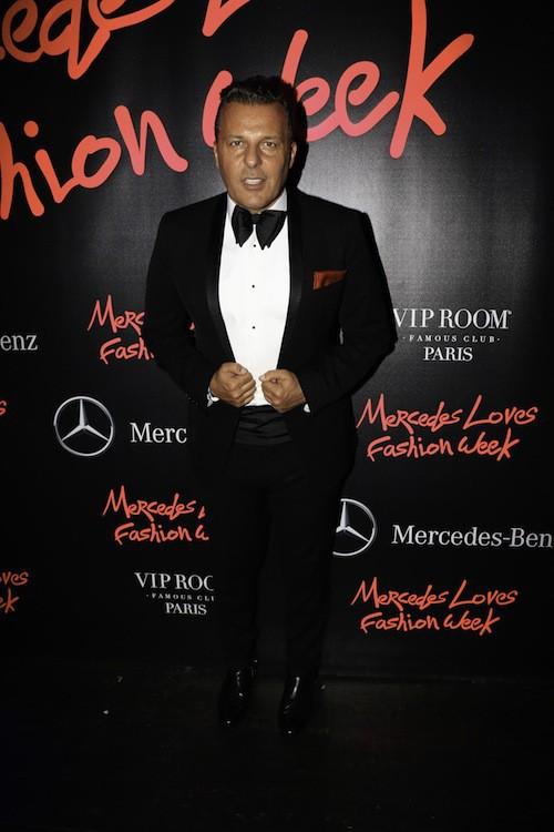 Jean Roch au VIP Room à Paris, le 1er octobre 2014