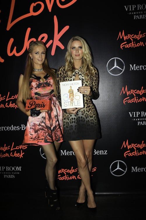Photos : Paris et Nicky Hilton : elles mettent le feu à Paris devant Alexandra Lamy et Kev Adams !