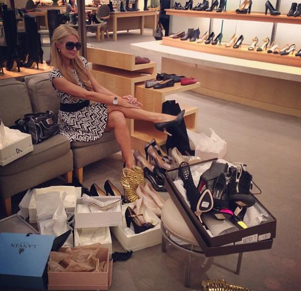Elle a de quoi trouver chaussure à son pied !