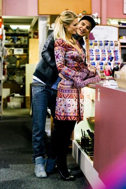 Paris Hilton et River Viiperi, Studio City, 9 février 2013