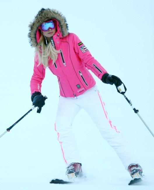 Paris Hilton, Aspen, 20 décembre 2012.