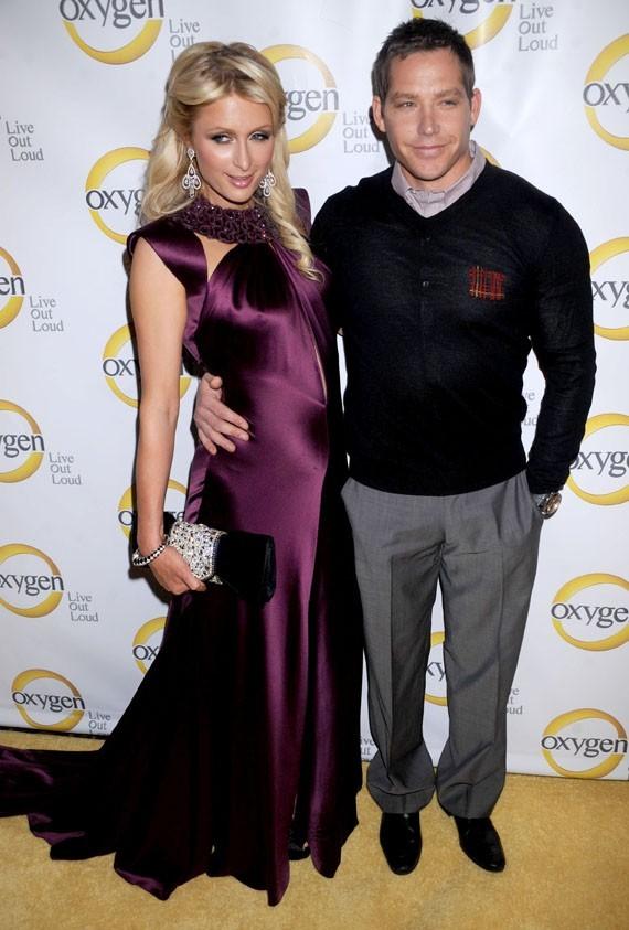 Paris Hilton et Cy Waits lors de la soirée Oxygen Media's 2011 à New York, le 4 avril 2011.