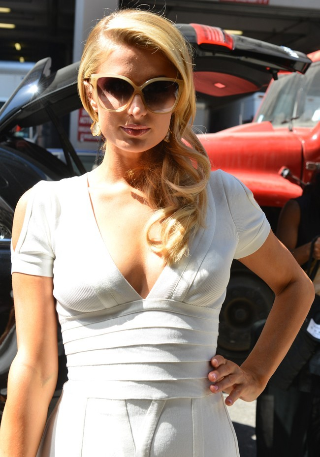 Paris Hilton, New York, 2 mai 2013.