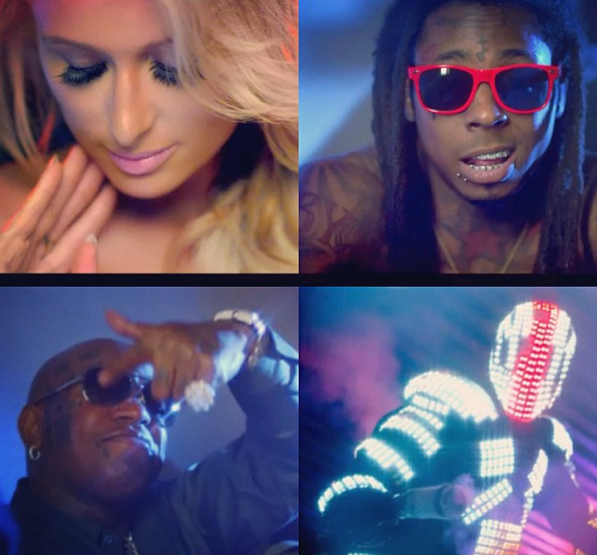 Paris Hilton et Lil Wayne pour Good Time !