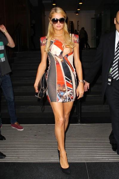 Paris Hilton, New York, 12 septembre 2012.