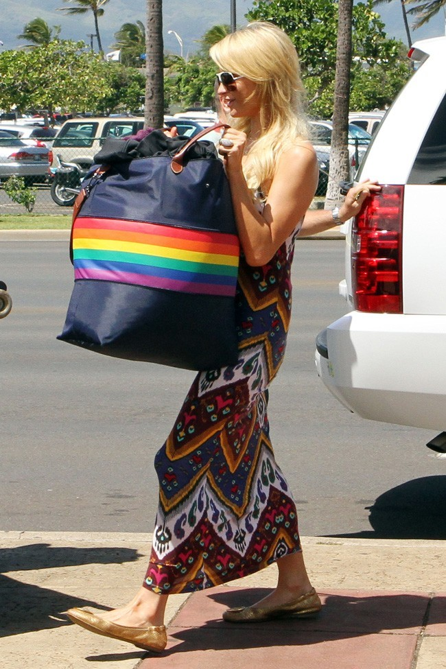 Paris Hilton le 27 septembre 2012 à Hawaii