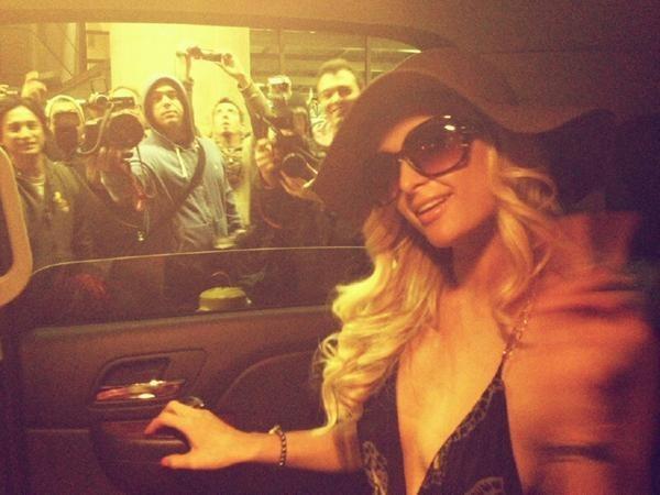 Paris Hilton heureuse de l'accueil qui lui est réservé !