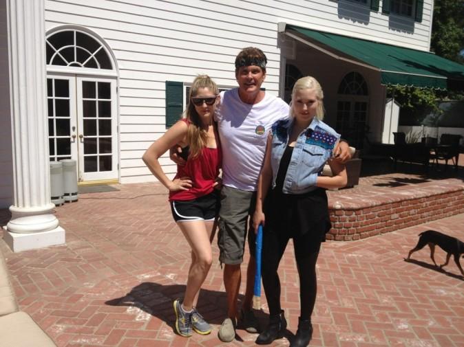 David et ses filles