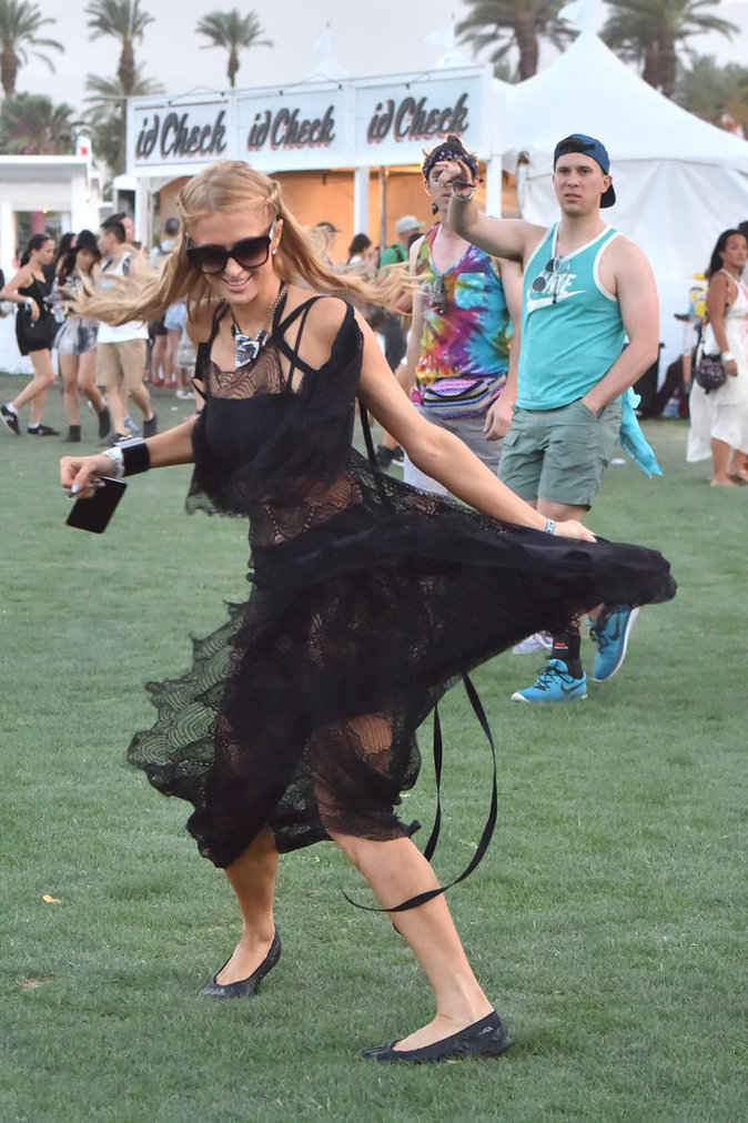 Photos : Paris Hilton : le Coachella de l'extrême !