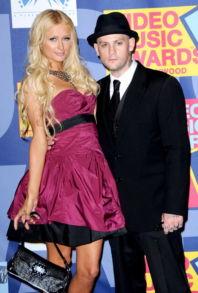 Photos : Paris Hilton en couple avec Benji Madden en 2008