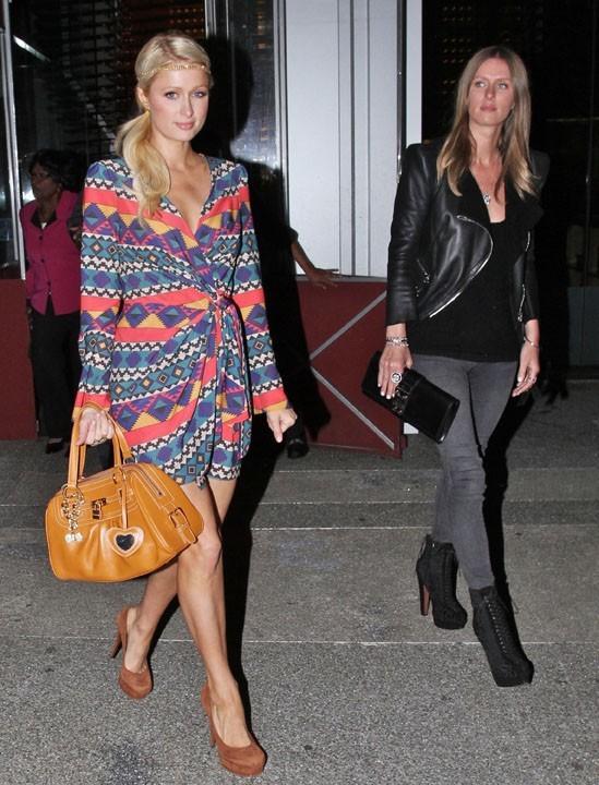 Paris Hilton, plus trendy que sa soeur...c'est rare !