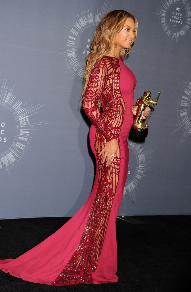 Beyoncé aux MTV Video Music Awards en 2014 à Los Angeles
