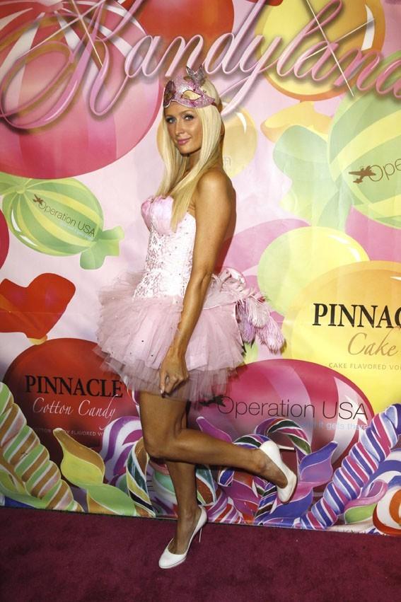 Non, Paris Hilton qui reprend goût au rose !