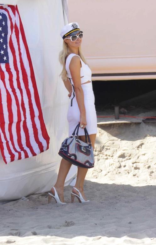 Pour la fête nationale américaine, elle a mis le paquet !