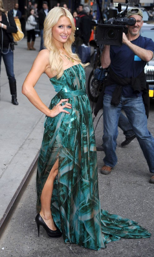 Paris Hilton à New York pour sa promo et son anniversaire, le 18 février 2011.