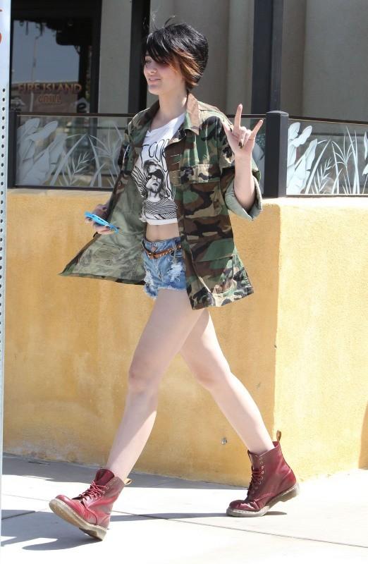 Paris Jackson à Los Angeles, le 28 avril 2013.