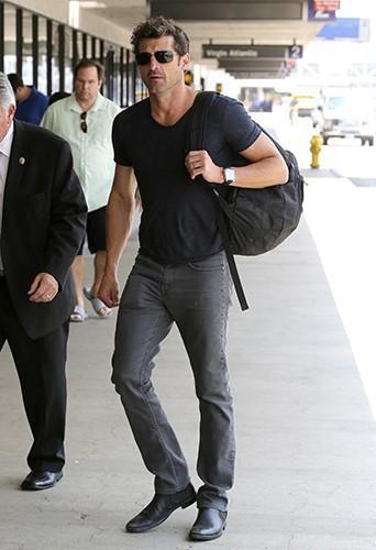 Patrick Dempsey à Los Angeles le 18 juillet 2013