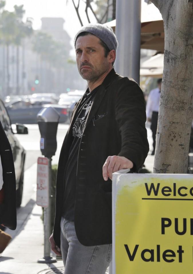 Photos : Patrick Dempsey : Dr Mamour au plus bas... Dépression post-rupture ?