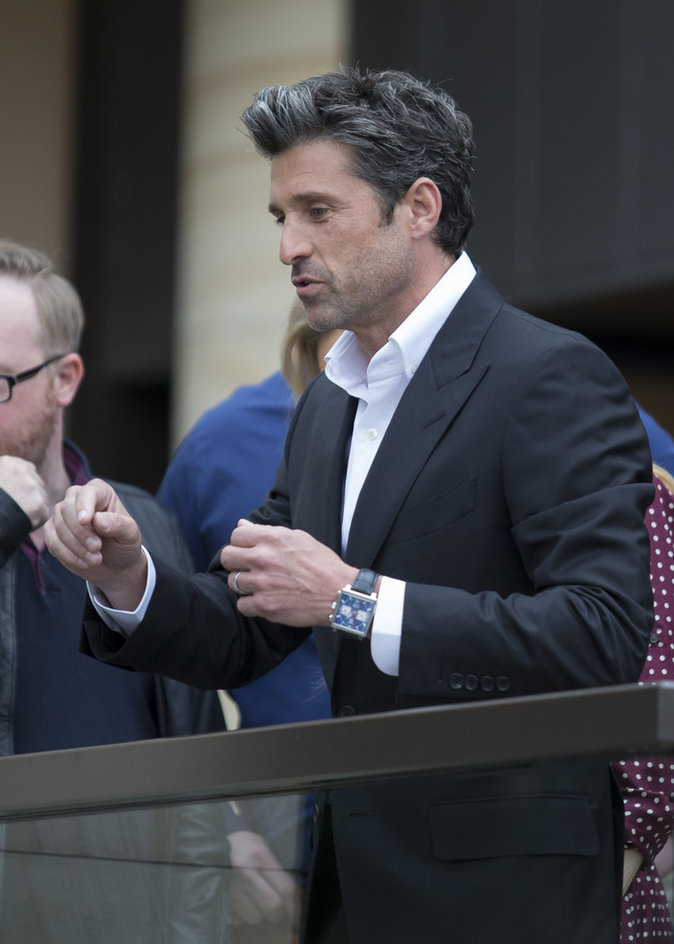 """Patrick Dempsey à Sydney pour la promotion du film """"Bridget Jones 3"""""""