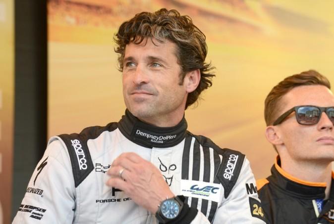 Patrick Dempsey au Mans le 16 juin 2013
